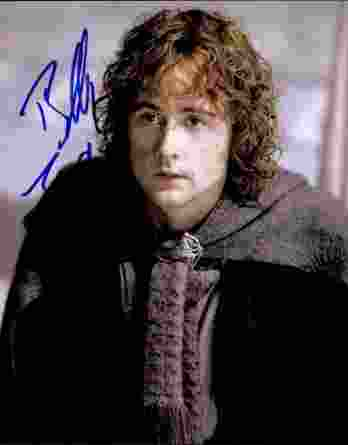 Billy Boyd authentic signed 8x10 picture