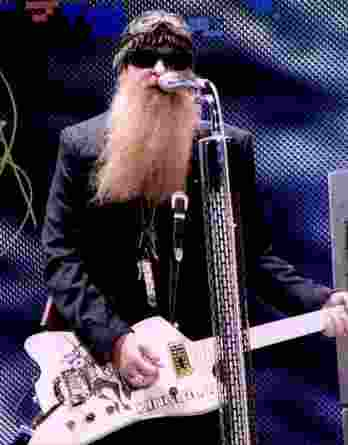 Billy Gibbons authentic signed 8x10 picture