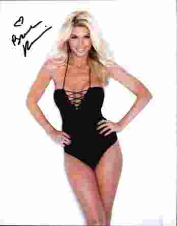 Brande Roderick authentic signed 8x10 picture