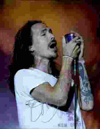 Brandon Boyd authentic signed 8x10 picture