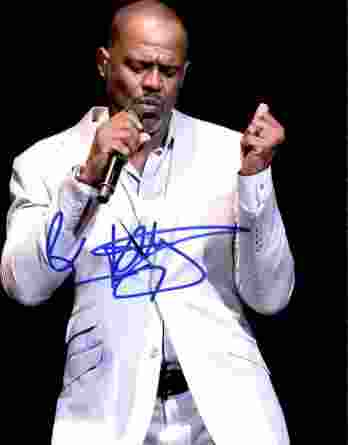 Brian Mcknight authentic signed 8x10 picture