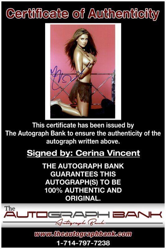 Cabin Fever Boxing Clever Geometric Design De Carol: Cerina Vincent Signed AUTHENTIC 8x10
