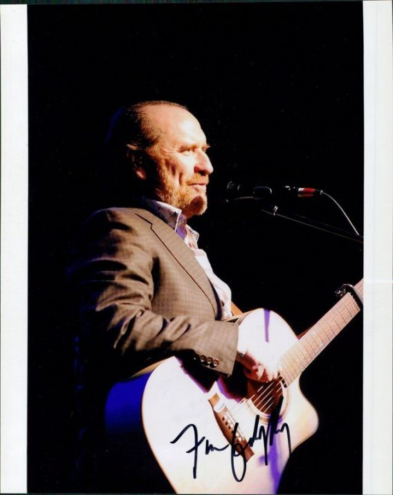 Colin Hay authentic signed 8x10 picture