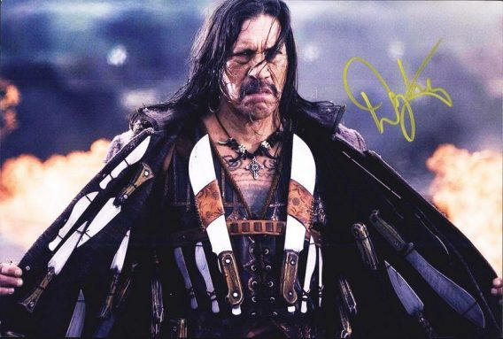 Danny Trejo authentic signed 8x10 picture