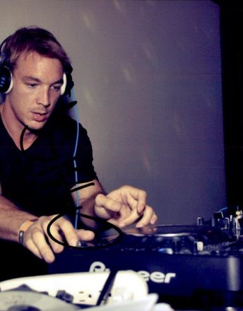 Diplo authentic authentic signed 8x10 picture