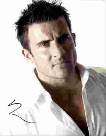 Dominic Purcell authentic signed 8x10 picture