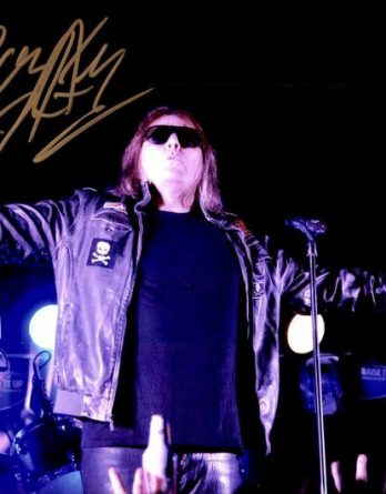 Don Dokken authentic signed 8x10 picture
