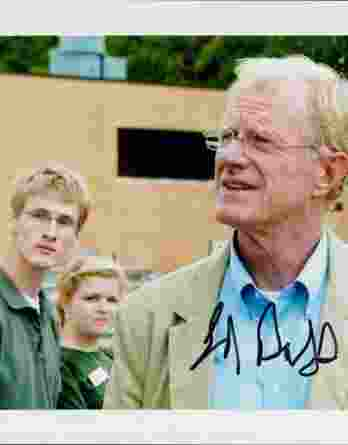 Ed Begley authentic signed 8x10 picture