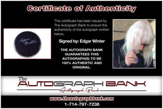 Edgar Winter proof of signing certificate