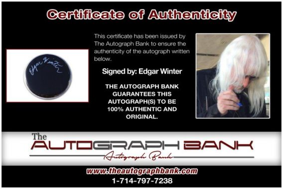 Edgar Winter proof of signing certificate