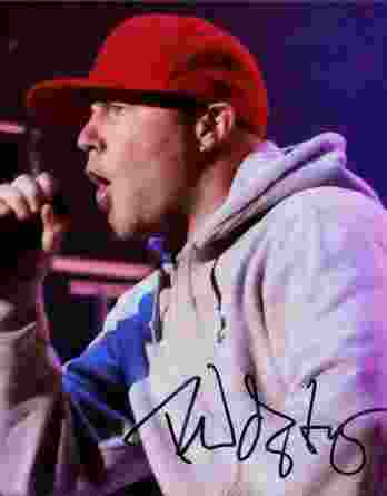 Fred Durst authentic signed 8x10 picture