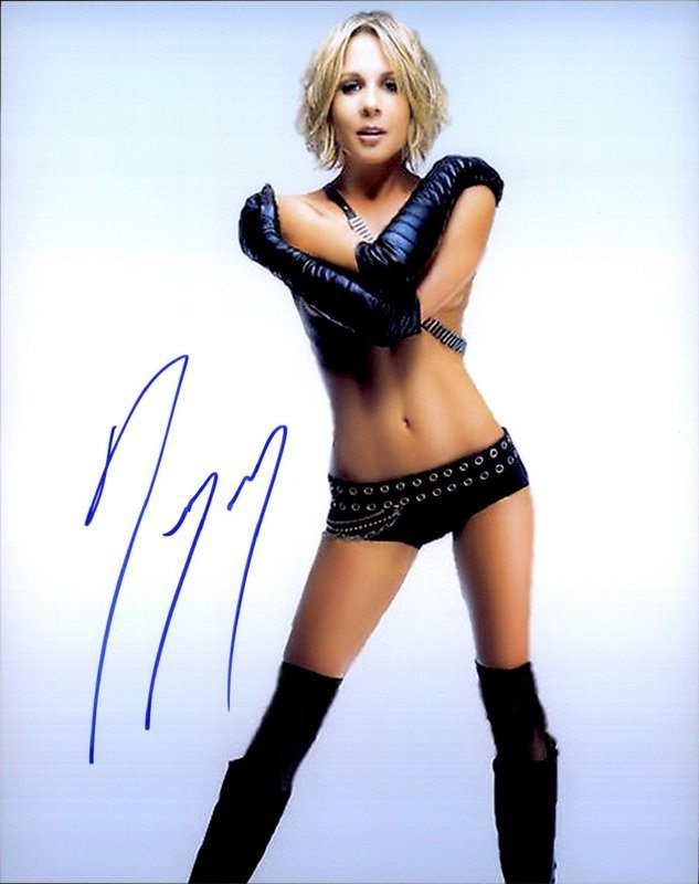 Gigi Edgley Signed Authentic 8X10Free Shipthe Autograph Bank-4242