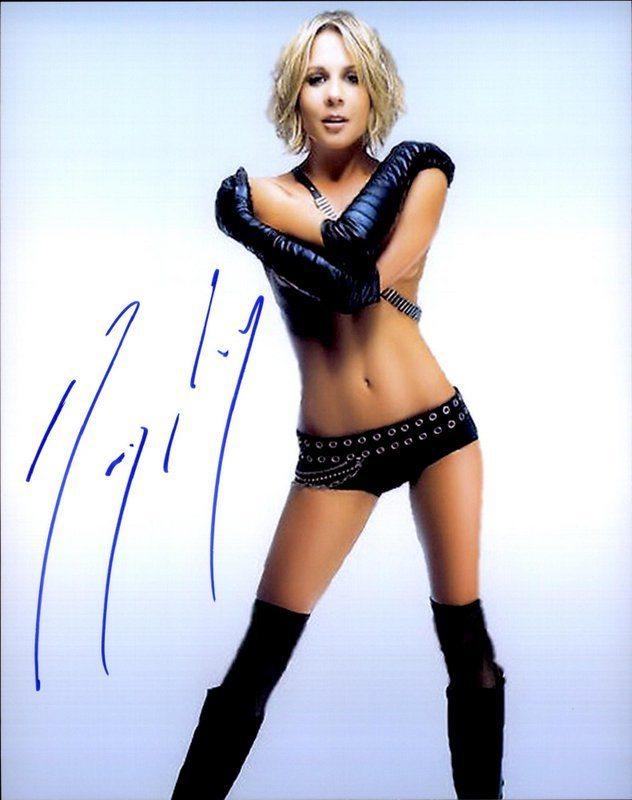 Gigi Edgley Signed Authentic 8X10Free Shipthe Autograph Bank-8536