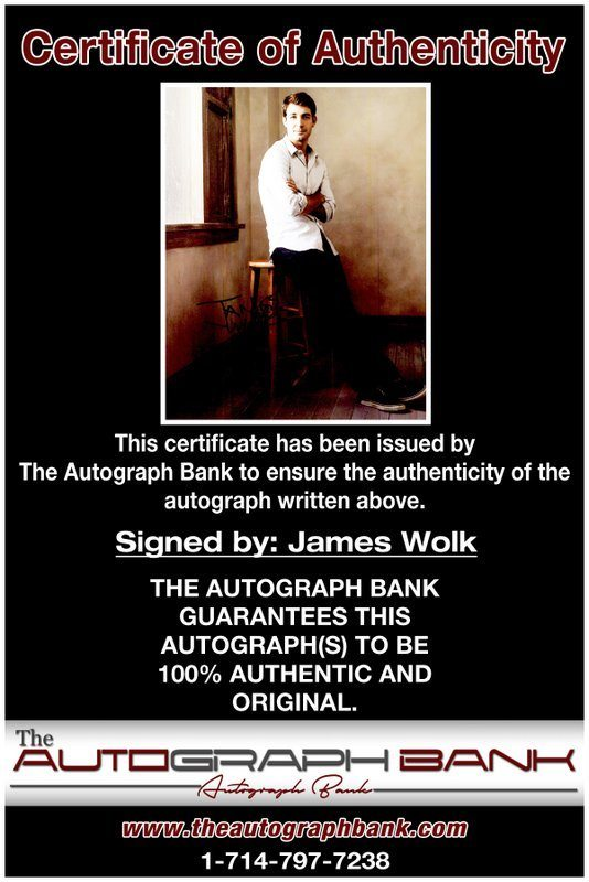James Wolk proof of signing certificate