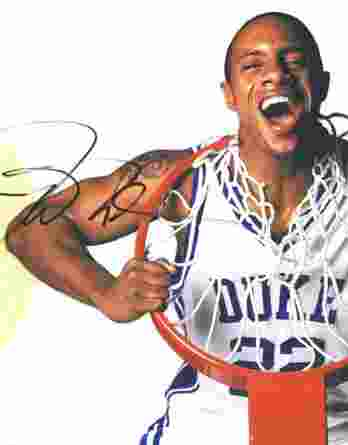 Jay Williams authentic signed 8x10 picture