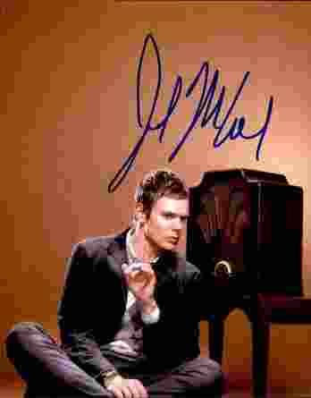 Joel Mchale authentic signed 8x10 picture