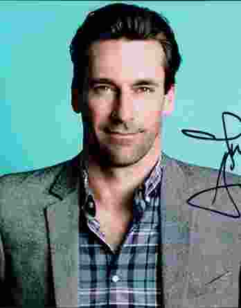 Jon Hamm authentic signed 8x10 picture