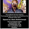 Mark Motherbaugh proof of signing certificate