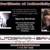 Matt Shultz proof of signing certificate