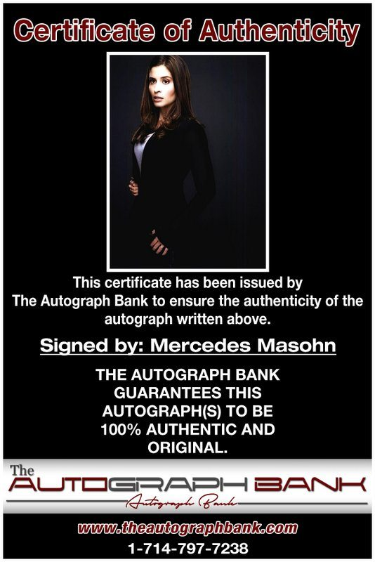Mercedes Masohn proof of signing certificate