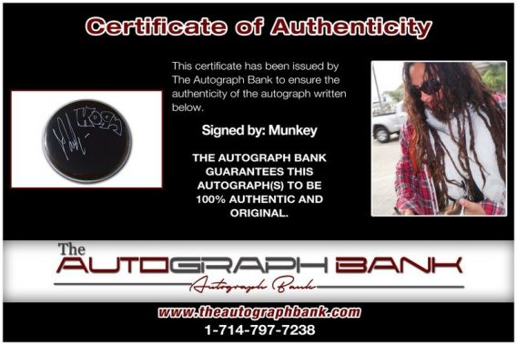 Munky proof of signing certificate