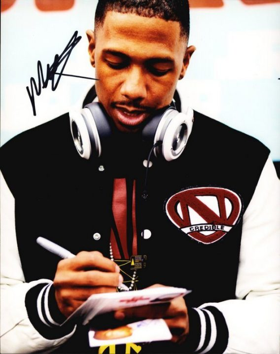 Nick Cannon authentic signed 8x10 picture