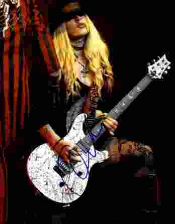Orianthi Panagaris authentic signed 8x10 picture