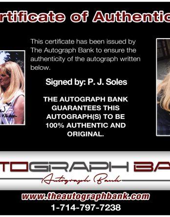 P J Soles Archives Authentic Autographs Low Prices The