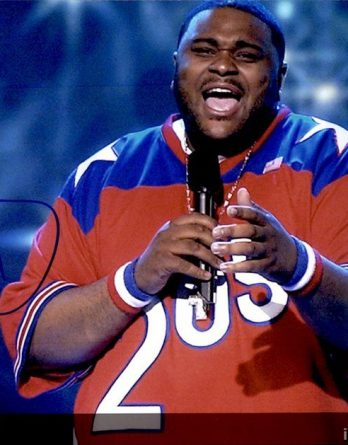 Ruben Studdard authentic signed 8x10 picture