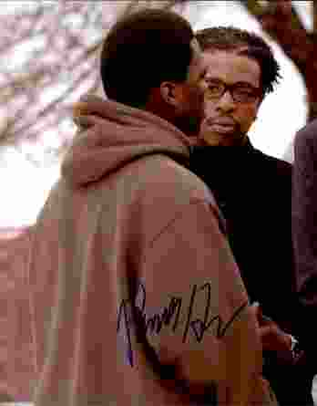 Russell Hornsby authentic signed 8x10 picture