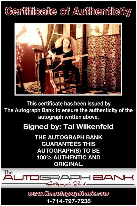 Tal Wilkenfeld proof of signing certificate