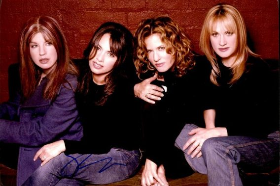 The Bangles authentic signed 8x10 picture