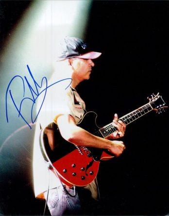 Tom Morello authentic signed 8x10 picture