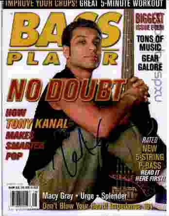 Tony Kanal authentic signed 8x10 picture