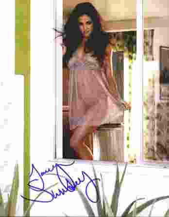 Jaclyn Swedberg authentic signed 8x10 picture
