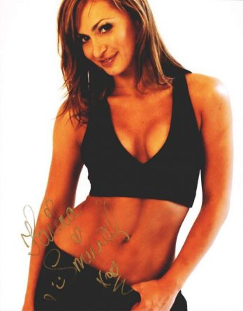 Karina Smirnoff authentic signed 8x10 picture
