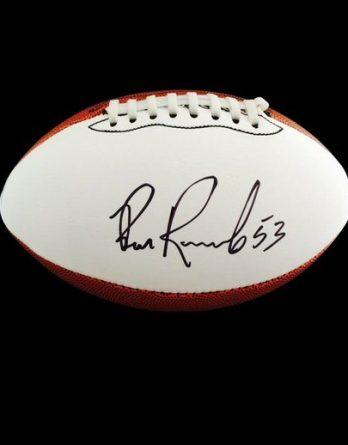 Bill Romanowski authentic signed 8x10 picture
