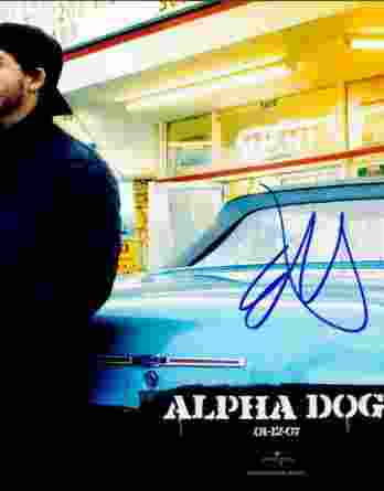 Emile Hirsch authentic signed 8x10 picture