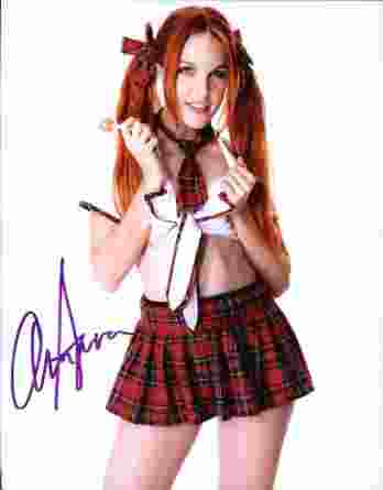 Armarna Miller authentic signed 8x10 picture