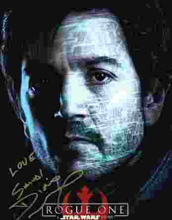 Diego Luna authentic signed 10x15 picture