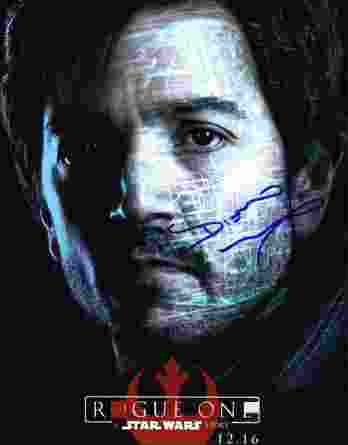Diego Luna authentic signed 8x10 picture