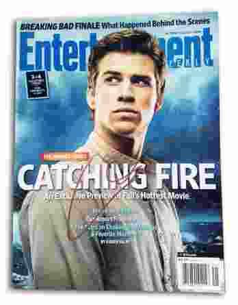 Liam Hemsworth authentic signed magazine