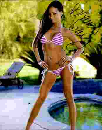 Raven Bay authentic signed 8x10 picture