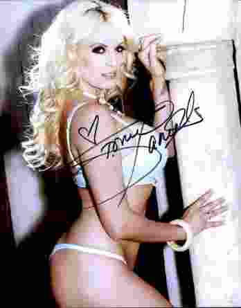 Stormy Daniels authentic signed 8x10 picture