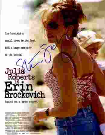 Steven Soderbergh authentic signed 10x15 picture