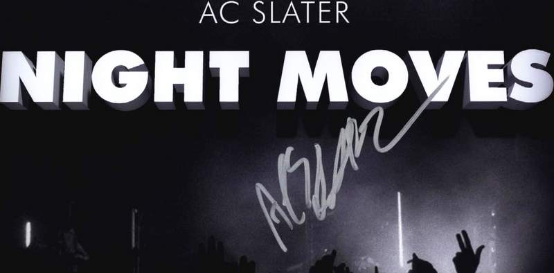 AC Slater authentic signed 8x10 picture
