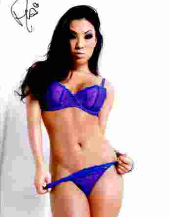 Asa Akira authentic signed 10x15 picture