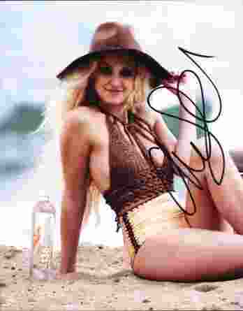 Ava Sambora authentic signed 8x10 picture