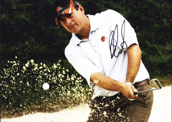 Ben Curtis authentic signed 8x10 picture