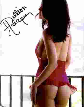 Dillion Harper authentic signed 10x15 picture
